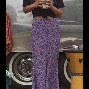 Spell Wildflower Maxi Skirt